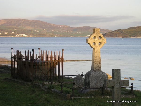 Captain Pakenhams Grave in Rathmullan