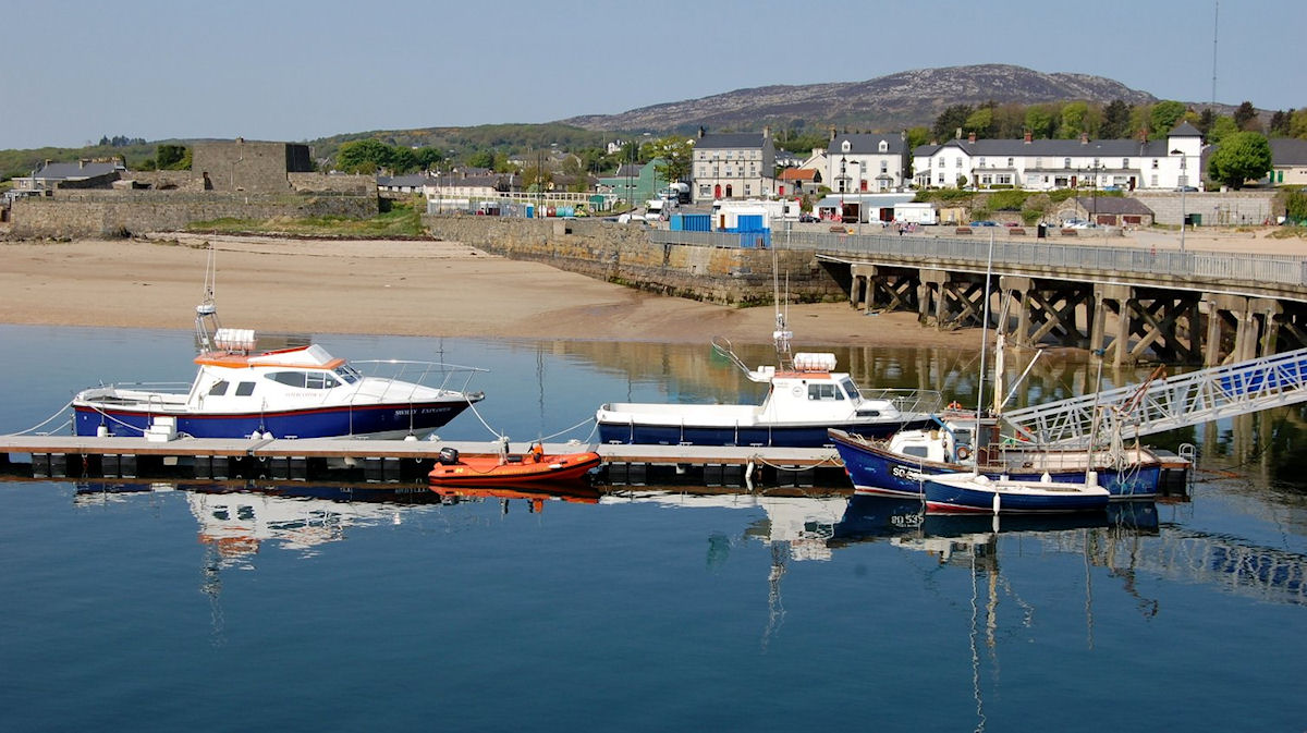 Sightseeing trips on Lough Swilly