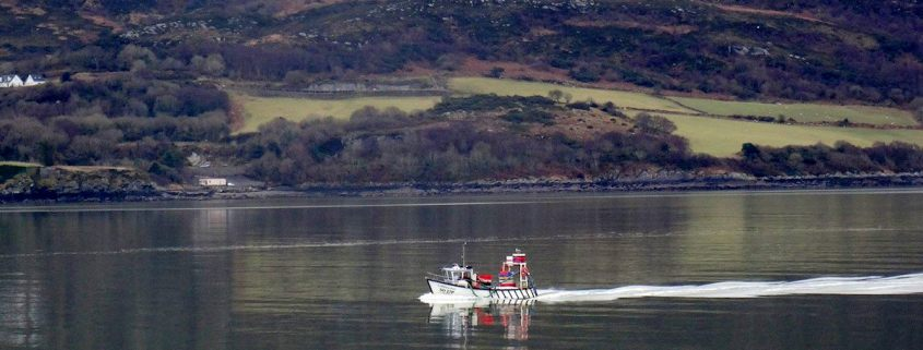 Lough Swilly Boat Inch Island