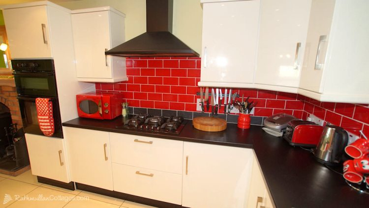 Sea View House Rathmullan Donegal - kitchen work area