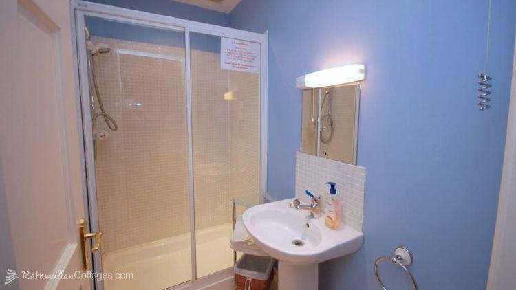 En-suite - Clearwaters Holiday Cottage Rathmullan