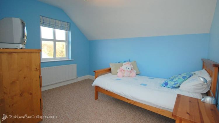 Single bedroom - Clearwaters Holiday Cottage Rathmullan