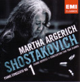 Martha Argerich/Shostakovich Piano Concerto No.1, Concerto for Two Pianos, Piano Quintet