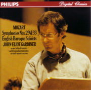 John Eriot Gardiner - English Baroque Soloists/Morzart:Symphonies Nos.29, 33