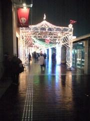 クリスマスイルミネーション(新宿高島屋前)