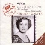 ワルター指揮/マーラー:大地の歌/ウィーン・フィルハーモニー管弦楽団(1952年録音)