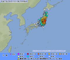 2011年4月11日17時20分気象庁発表