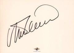 内田光子さんの直筆サインをいただきました