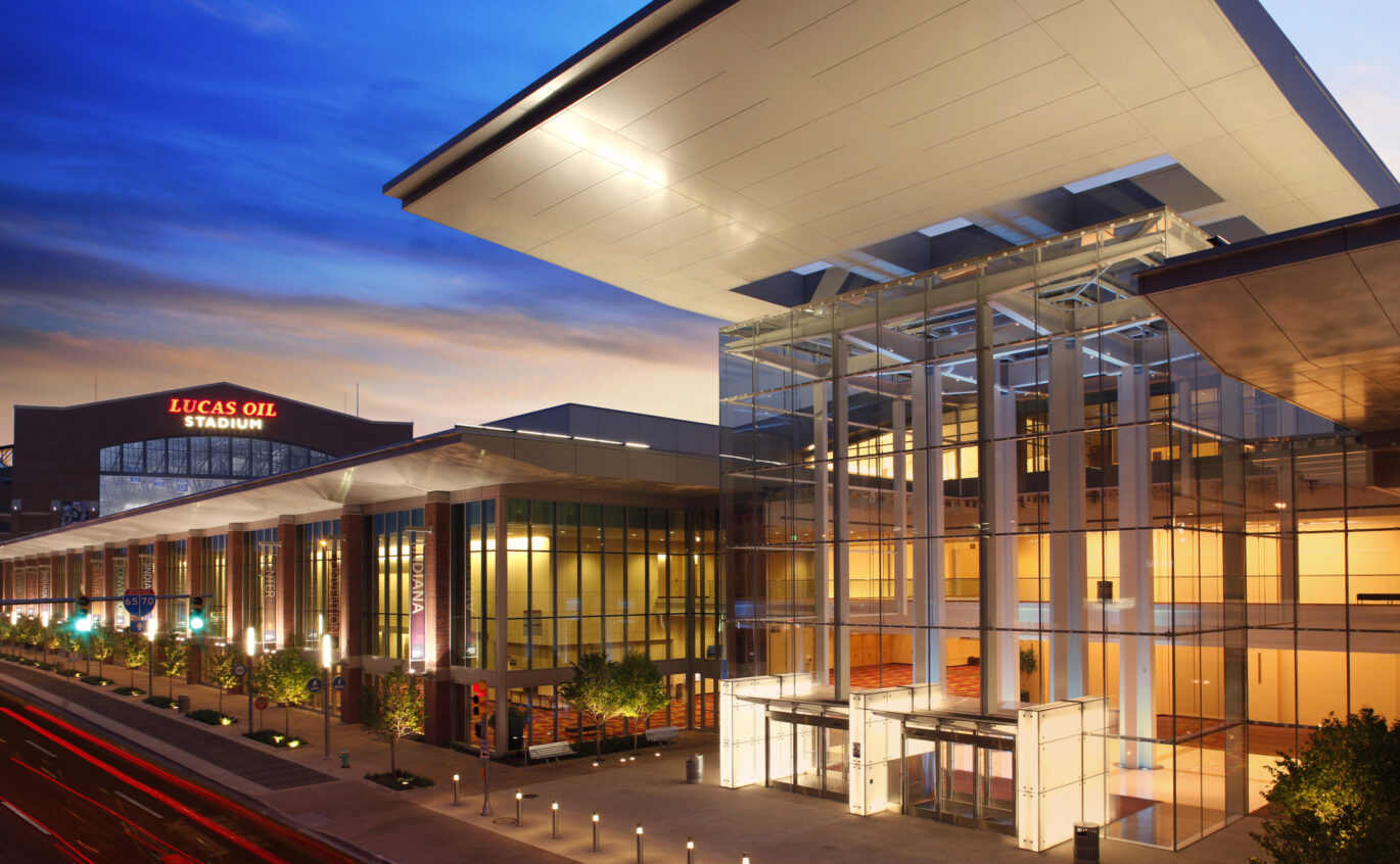 indiana convention center expansion ratio
