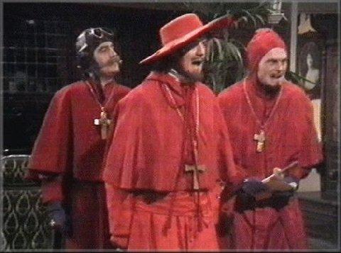 Nikt się nie spodziewał hiszpańskiej inkwizycji