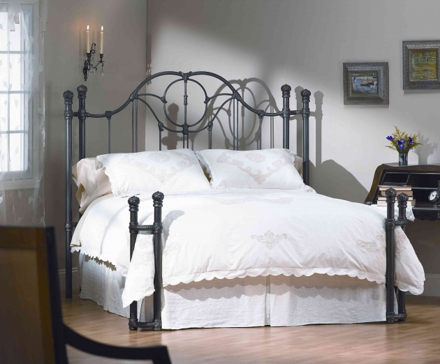 Wrought Iron Headboard High Quality Hand Made Italian Bed