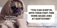 -Sleep in, with one of these part-time home-based jobs at isoftstone-