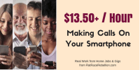 $13.50+/Hour Making Calls On Your Smartphone