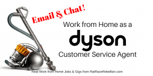Work from Home as a Dyson Customer Service Agent