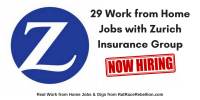 29 Work from Home Jobs with Zurich Insurance Group