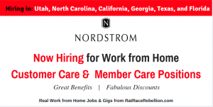 Nordstrom Now Hiring