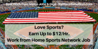 Love Sports-Earn Up to $12%2FHr.