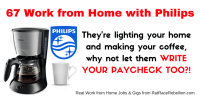 67 Home-Based Jobs Now Available with Philips
