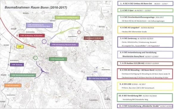 Baustellen Bonn 1