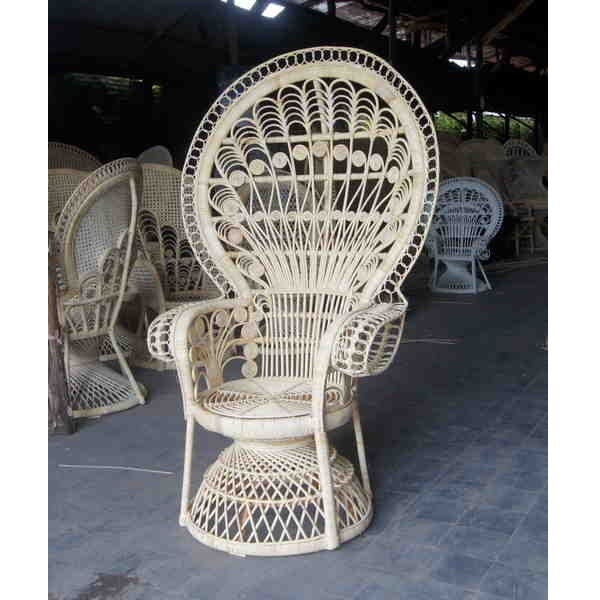 Peacock wicker chair wholesale Rose collection   Rattan Cirebon     peacock wicker chair wholesale