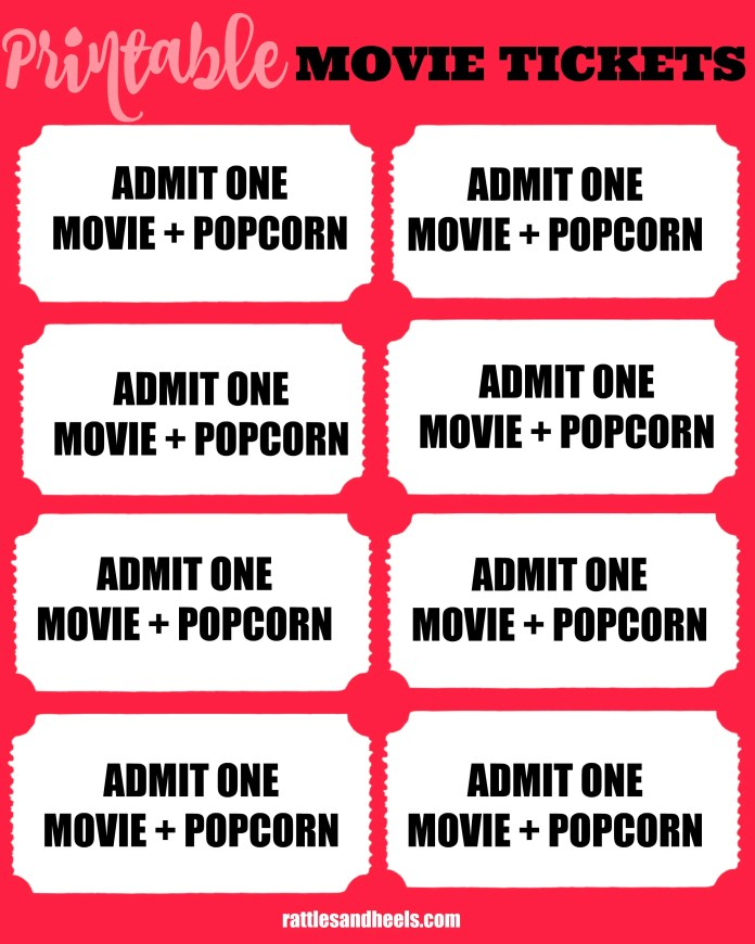 printable movie tickets free download