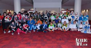 Voltron Legendary Defender Photoshoot group picture from MomoCon 2017 by Kollig Art