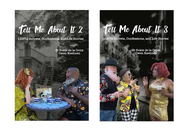 Covers of Tell Me About It 2 and Tell Me About It 3