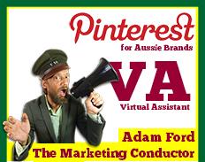 Pinterest va virtual assistant australia
