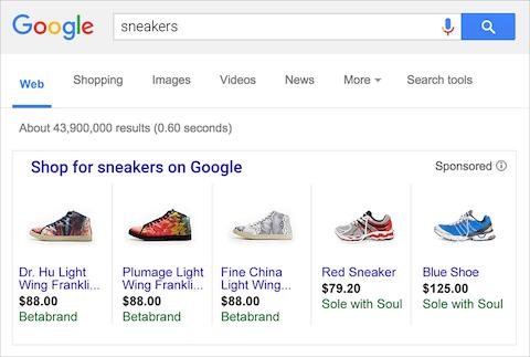 google shopping ads australia