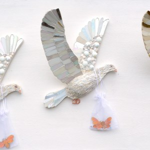 doves who bring ambrosia to the gods