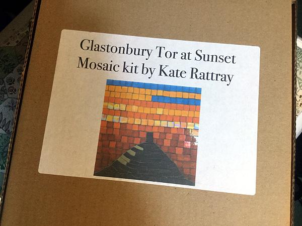 Glastonbury Tor mosaic kit