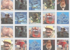 Play the Pixar Character Memory Game!