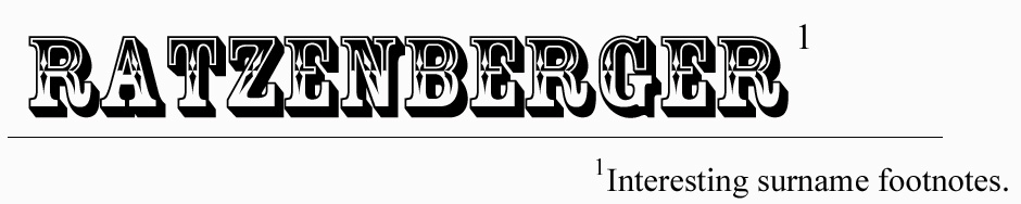The Ratzenberger Attic