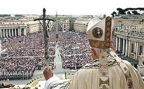 Pauslijke zegen - zalig Paasfeest