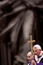 Italy - Religion - Pope benedict XVI celebrates ash wednesday
