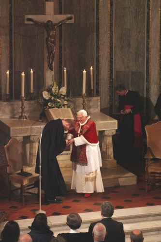 Pope+Visits+Evangelic+Lutheran+Church+Rome
