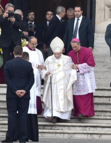 Canonization mass for Pope John Paul II and Pope John XXIII