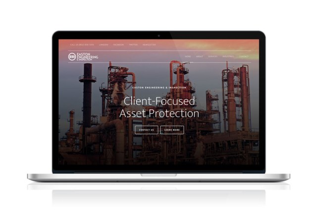 Easton Engineering & Inspection New Jersey Webdesign