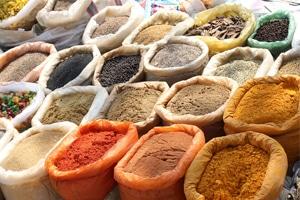 Warenkunde Rauchsalz Cayennepffer indische Gewürze