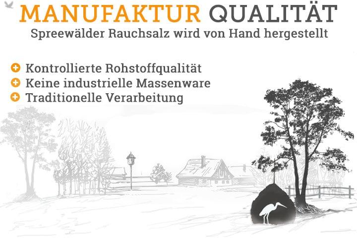 Homepage Rauchsalz Manufaktur Qualität