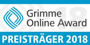 Grimme Online Award Preisträger 2018