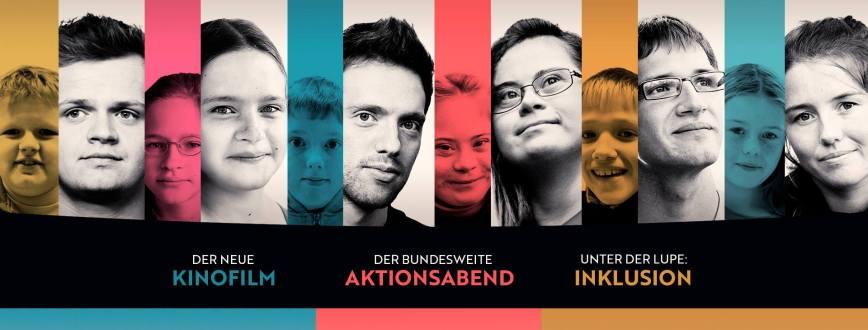 """Ab 15. Mai 2019 im Kino: """"Die Kinder der Utopie"""" – Ein Kinofilm über Inklusion und Erwachsenwerden. An einem Abend. In Deiner Nähe. Jetzt dabei sein."""