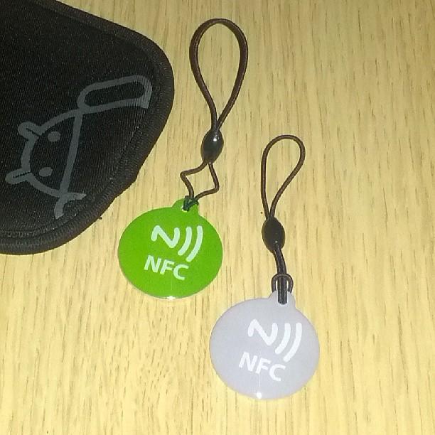 Ahora un poco de imaginación y a programar #nfc #android