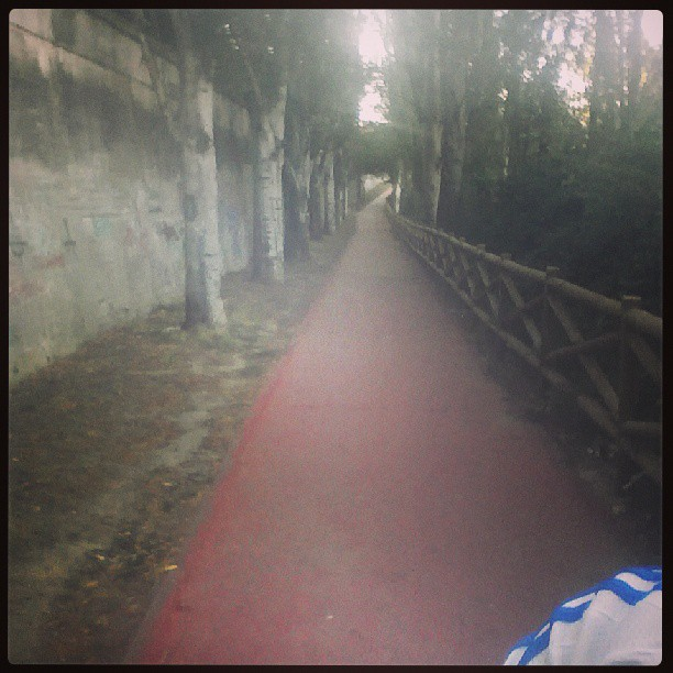 Sesión de #running mañanero por #Palencia