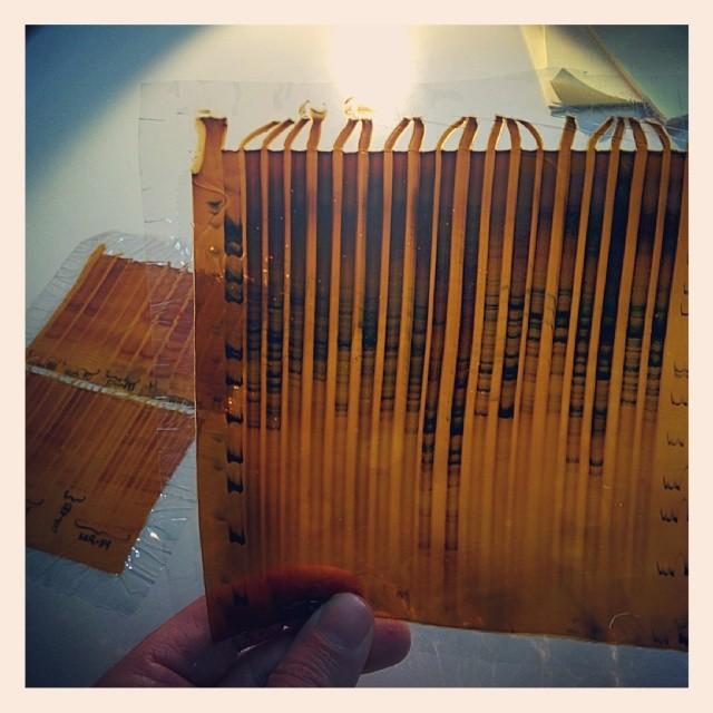 Encontrando manualidades de laboratorio #electroforesis