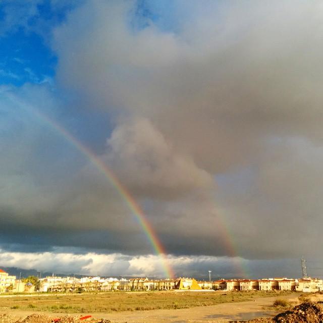 Double rainbow #Granada