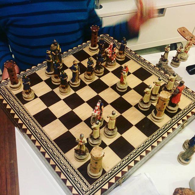 Moros contra cristianos #ajedrez