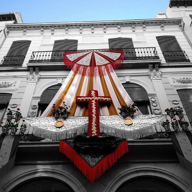 Miradas a lo alto en #Granada 😮 #diadelacruz #lascruces