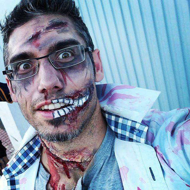 Hoy los vivos me miraban raro #Halloween