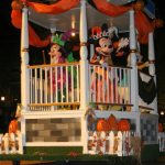 Mickey Mouse Halloween float at Mickey's Not So Halloween Party